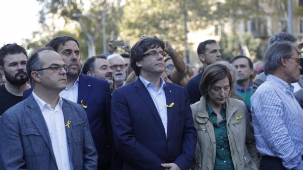 No to the coup d'etat towards Catalonia and democracy